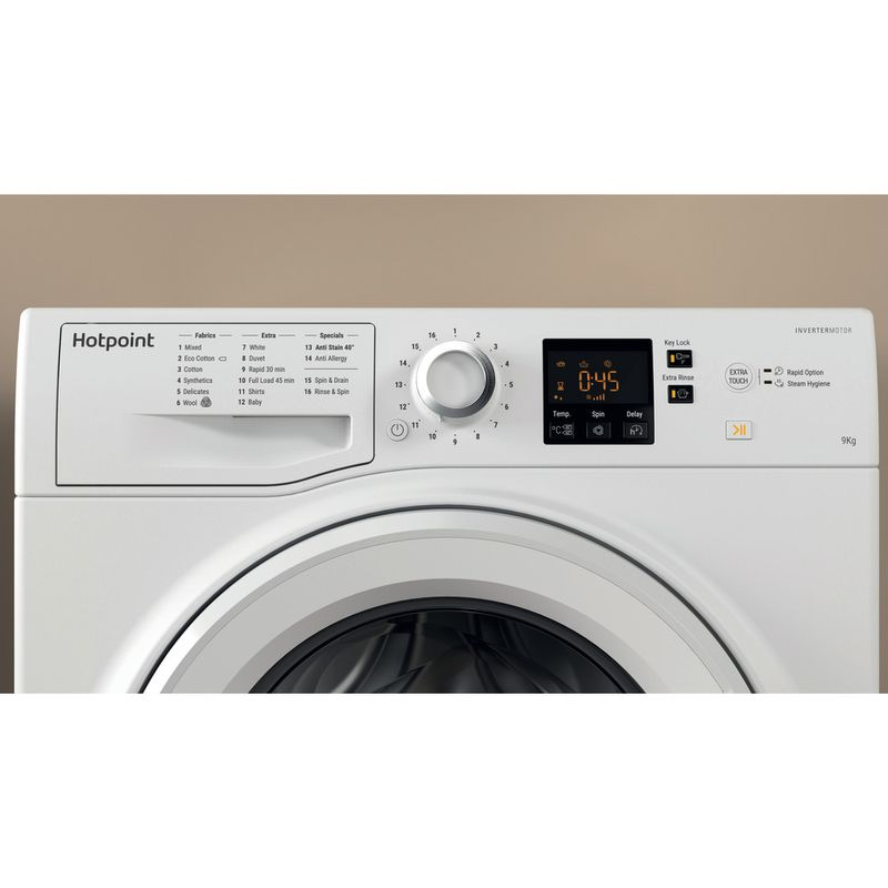 Hotpoint-Washing-machine-Free-standing-NSWJ-942C-W-UK-White-Front-loader-A---Lifestyle-control-panel
