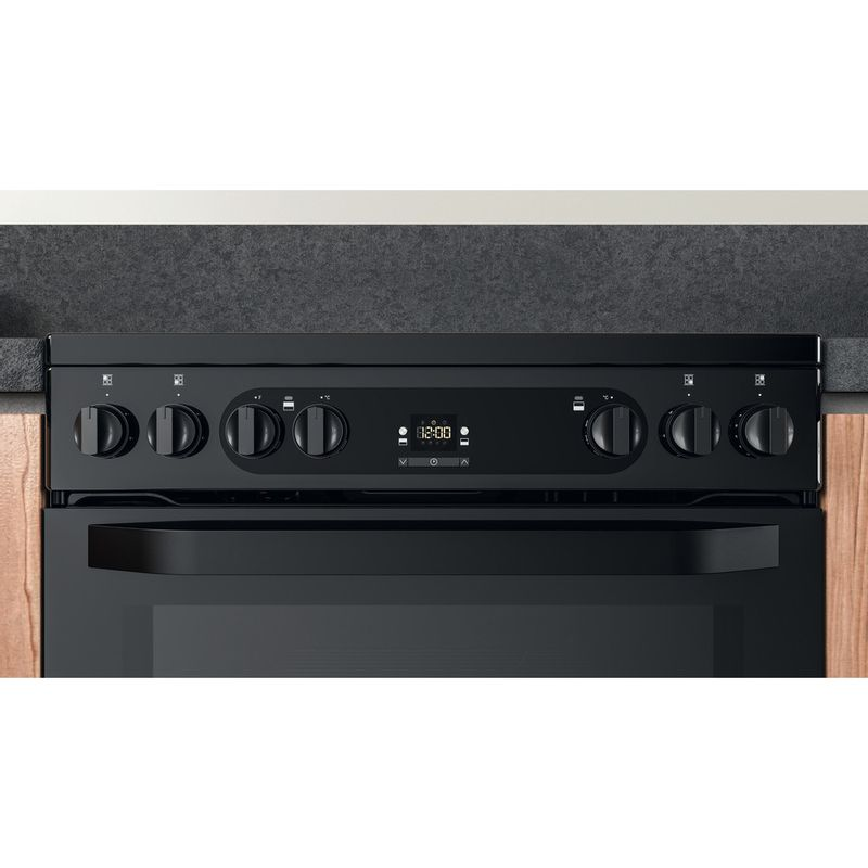 Hotpoint-Double-Cooker-HDM67V92HCB-UK-Black-A-Lifestyle-control-panel