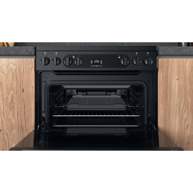 Hotpoint-Double-Cooker-HDM67V92HCB-UK-Black-A-Cavity