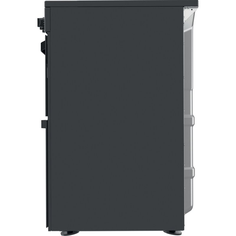Hotpoint-Double-Cooker-HDM67V92HCB-UK-Black-A-Back---Lateral
