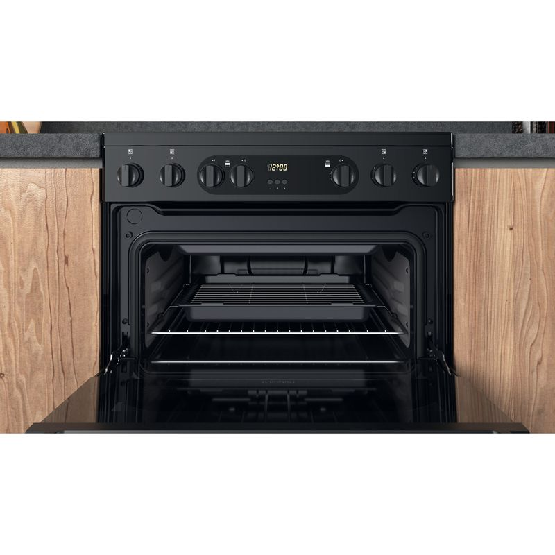 Hotpoint-Double-Cooker-HDM67V9CMB-UK-Black-A-Cavity