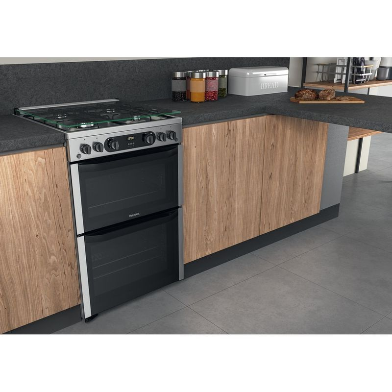 Hotpoint-Double-Cooker-HDM67G0CCX-UK-Inox-A--Lifestyle-perspective