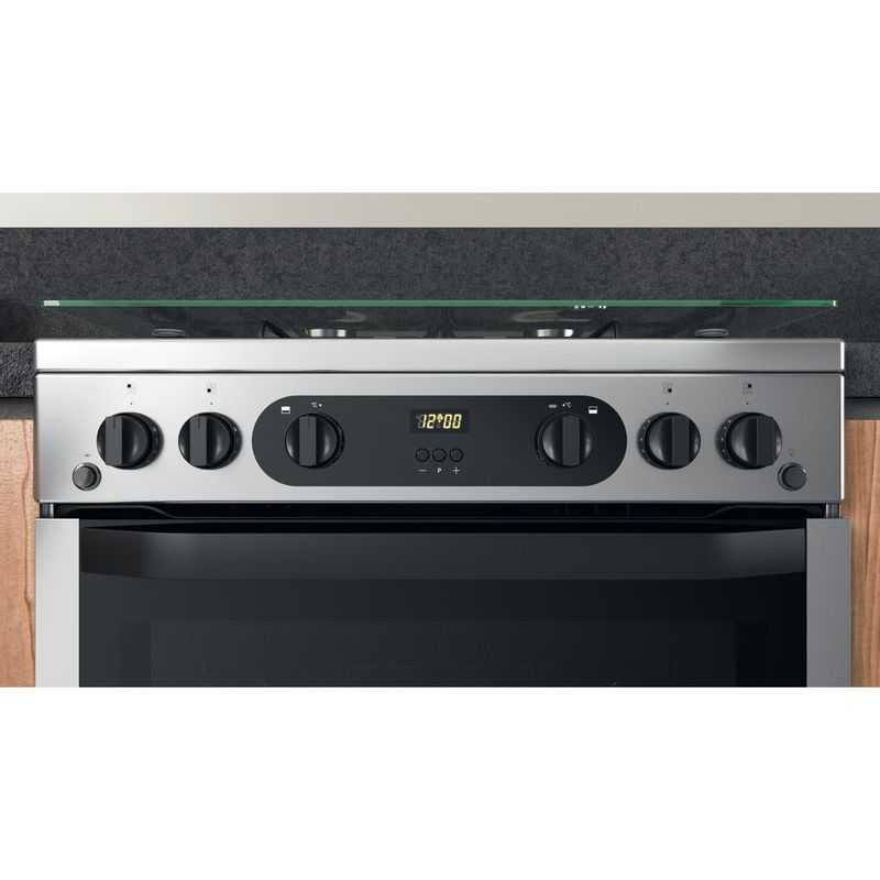 Hotpoint-Double-Cooker-HDM67G0CCX-UK-Inox-A--Lifestyle-control-panel