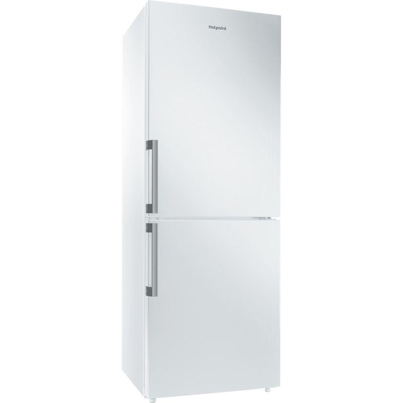 Hotpoint-Fridge-Freezer-Free-standing-NFFUD-190-W-White-2-doors-Perspective