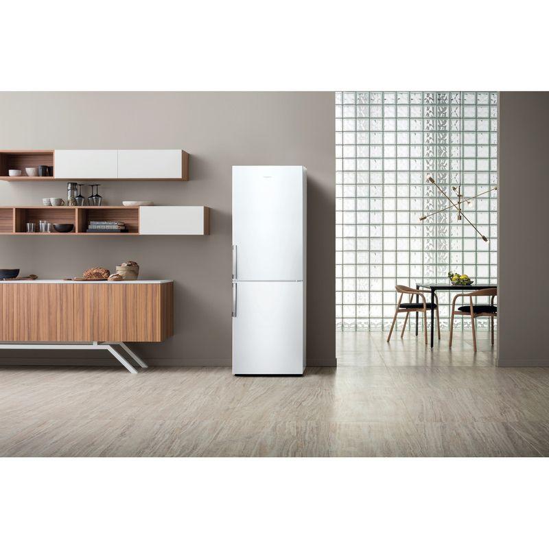 Hotpoint-Fridge-Freezer-Free-standing-NFFUD-190-W-White-2-doors-Lifestyle-frontal