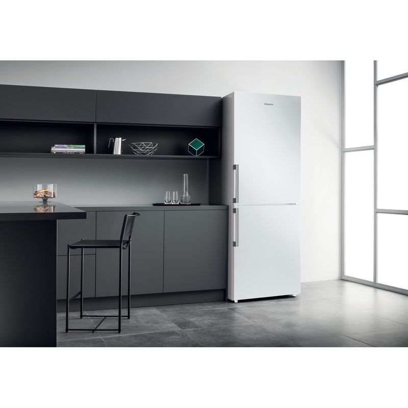 Hotpoint-Fridge-Freezer-Free-standing-NFFUD-190-W-White-2-doors-Lifestyle-perspective