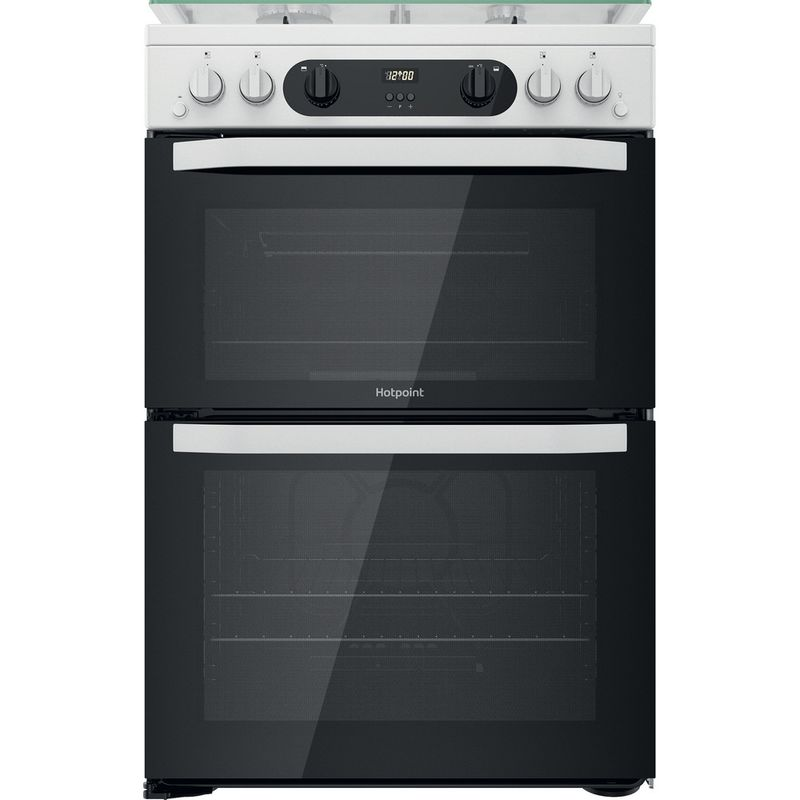 Hotpoint-Double-Cooker-HDM67G0CCW-UK-White-A--Frontal