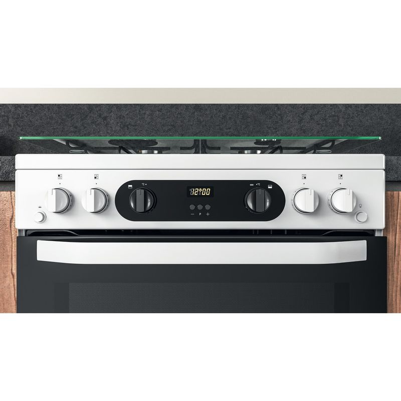 Hotpoint-Double-Cooker-HDM67G0CCW-UK-White-A--Lifestyle-control-panel