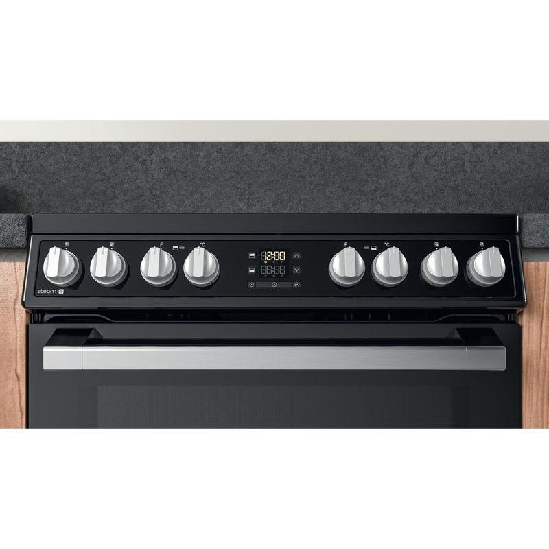 Hotpoint-Double-Cooker-HDT67V8D2CB-UK-Black-A-Lifestyle-control-panel