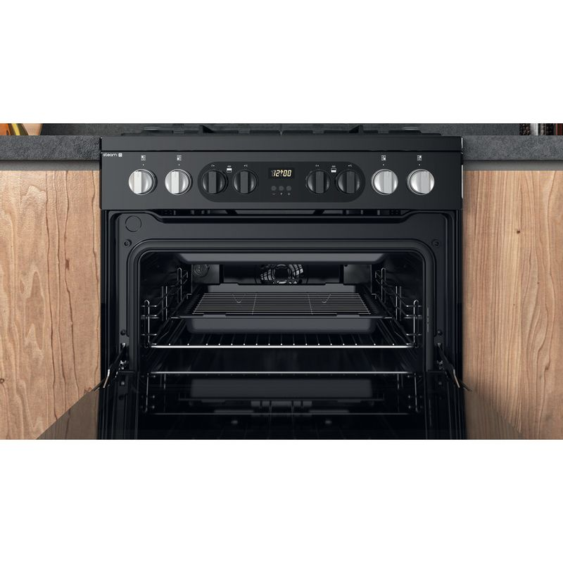 Hotpoint-Double-Cooker-HDM67G8CCB-UK-Black-A-Cavity