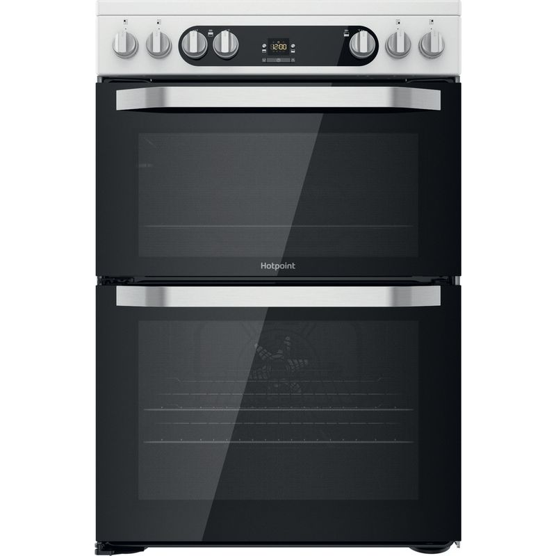 Hotpoint-Double-Cooker-HDM67V9HCW-UK-1-White-A-Frontal