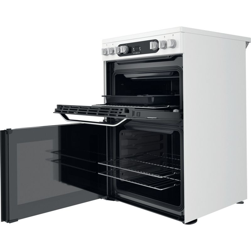 Hotpoint-Double-Cooker-HDM67V9HCW-UK-1-White-A-Perspective-open
