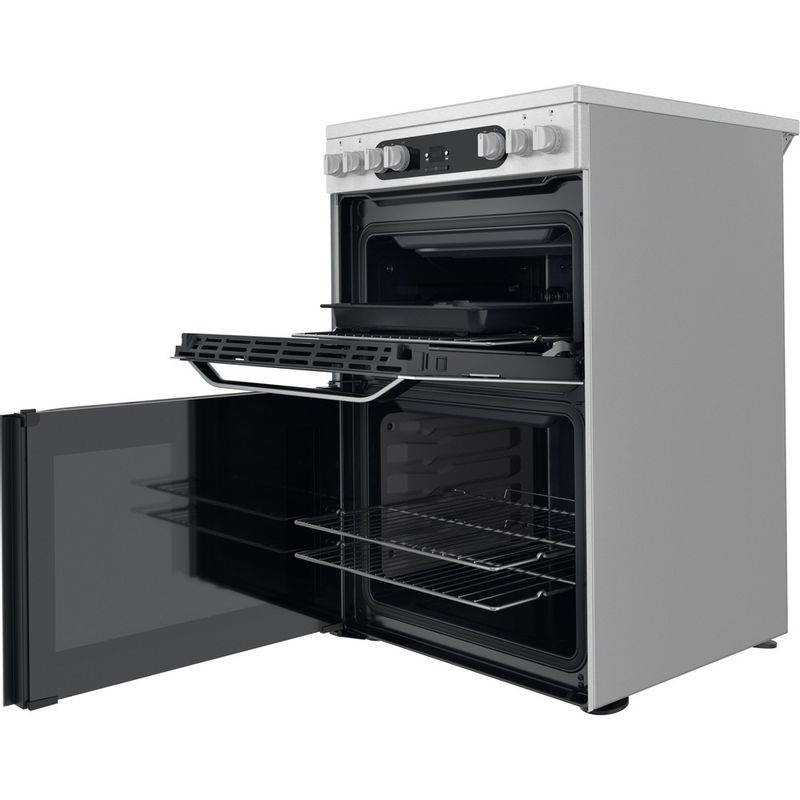 Hotpoint-Double-Cooker-HDM67V9HCX-UK-Inox-A-Perspective-open