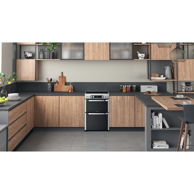 Hotpoint-Double-Cooker-HDM67V9HCX-UK-Inox-A-Lifestyle-frontal