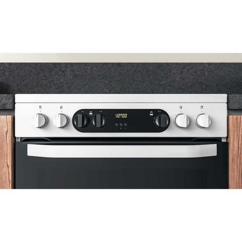 Hotpoint-Double-Cooker-HDM67V9CMW-U-White-A-Lifestyle-control-panel