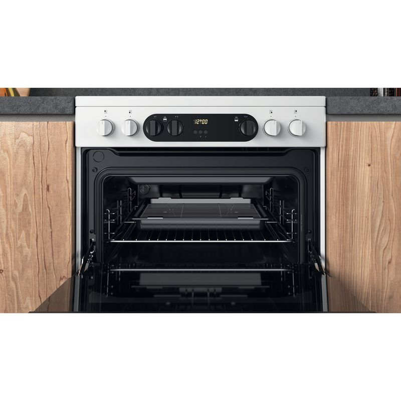 Hotpoint-Double-Cooker-HDM67V9CMW-U-White-A-Cavity