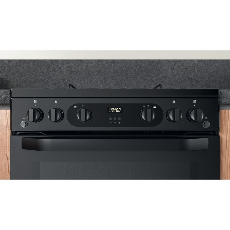 Hotpoint-Double-Cooker-HDM67G0CMB-UK-Black-A--Lifestyle-control-panel
