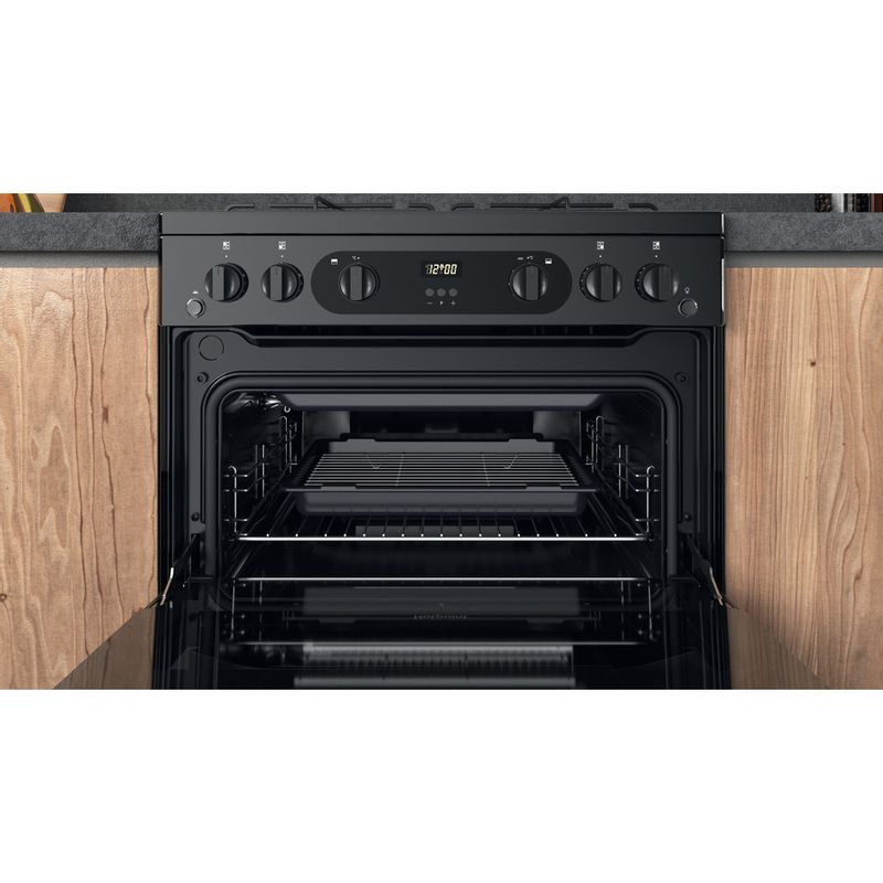 Hotpoint-Double-Cooker-HDM67G0CMB-UK-Black-A--Cavity