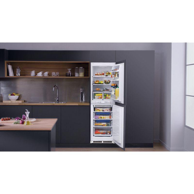 Hotpoint-Fridge-Freezer-Built-in-HM-325-FF-0-White-2-doors-Lifestyle-frontal-open