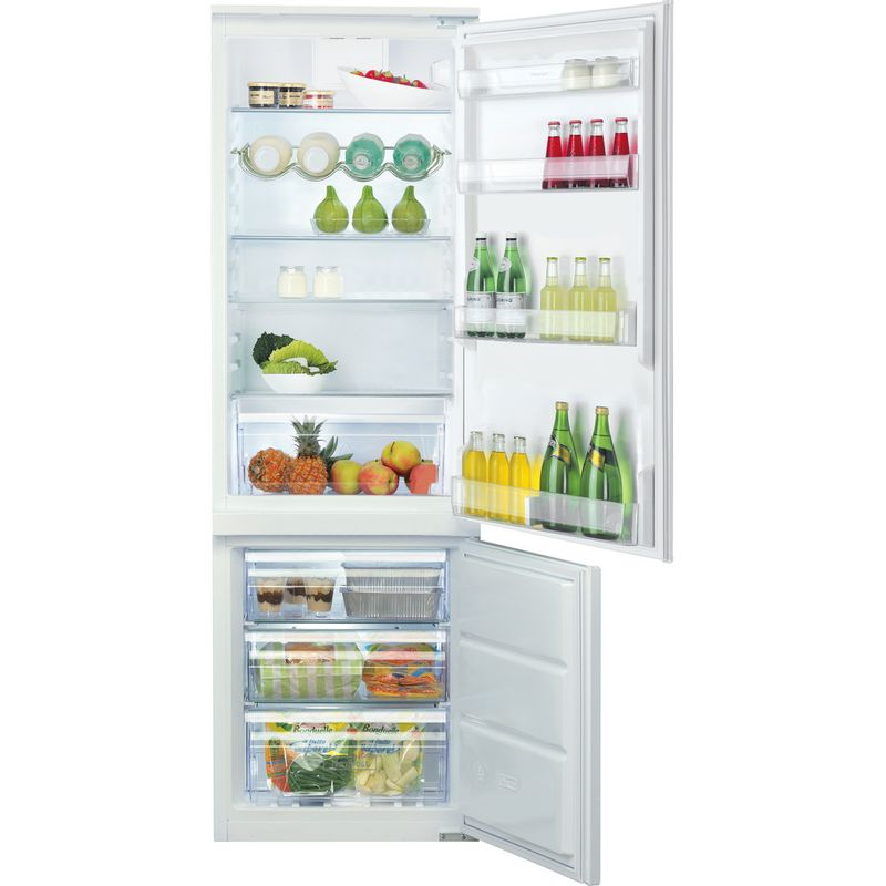 Hotpoint-Fridge-Freezer-Built-in-HMCB-7030-AA-DF-0-White-2-doors-Frontal-open