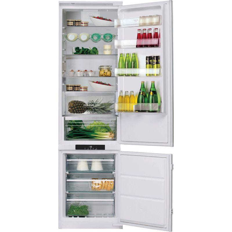 Hotpoint-Fridge-Freezer-Built-in-BCB-8020-AA-FC-0-White-2-doors-Frontal-open