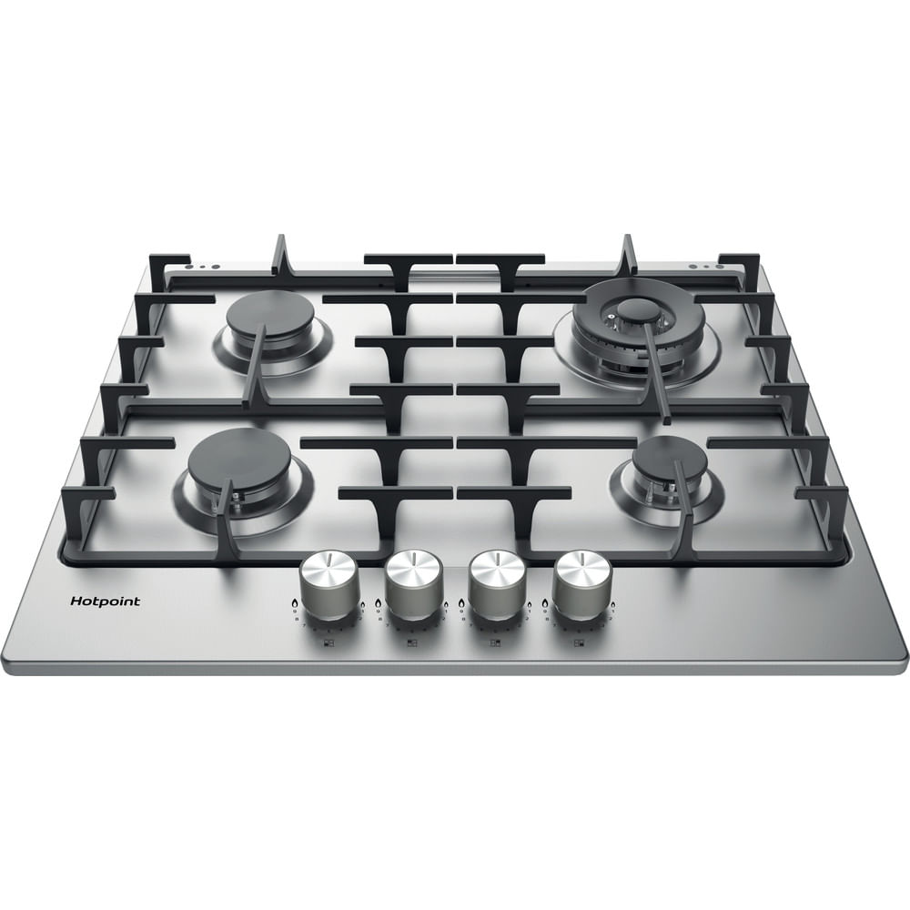 Hotpoint Gas Hob PPH 60G DF IX UK : discover the specifications of our home appliances and bring the innovation into your house and family.