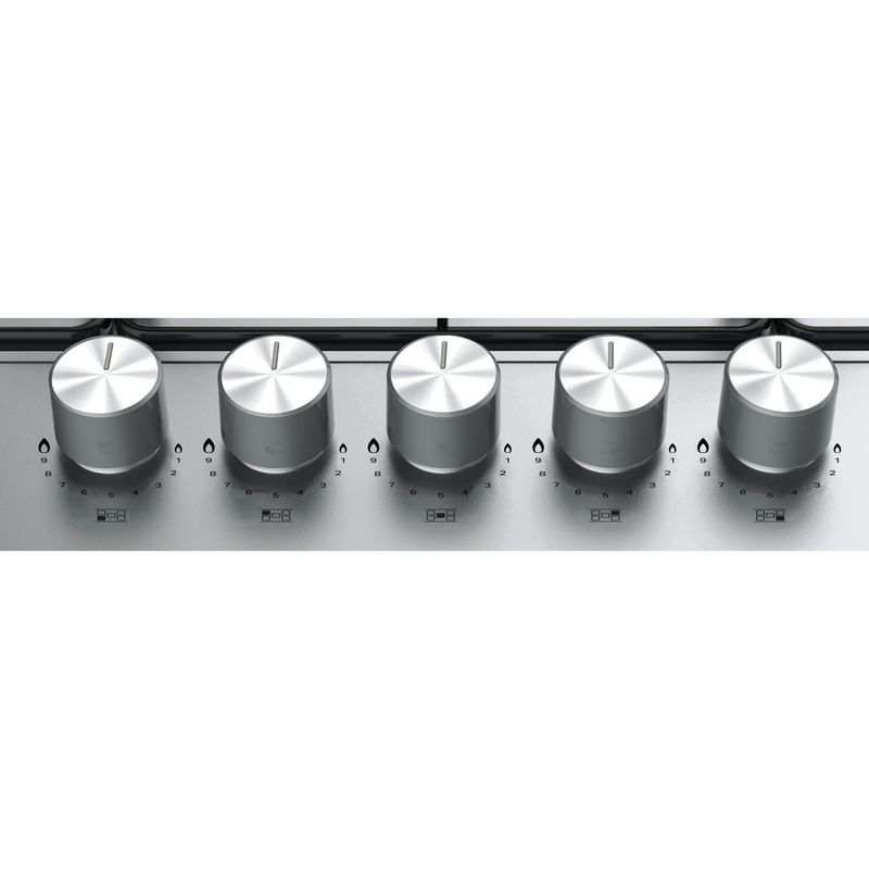 Hotpoint-HOB-PPH-75P-DF-IX-UK-Inox-GAS-Control-panel