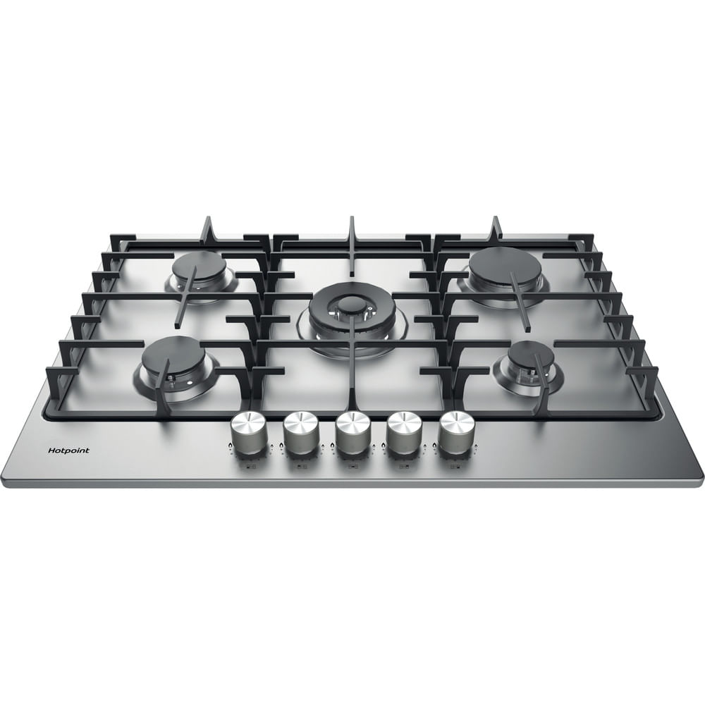 Hotpoint Gas Hob PPH 75G DF IX UK : discover the specifications of our home appliances and bring the innovation into your house and family.