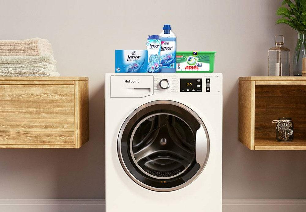Free Ariel Laundry & Lenor Bundle