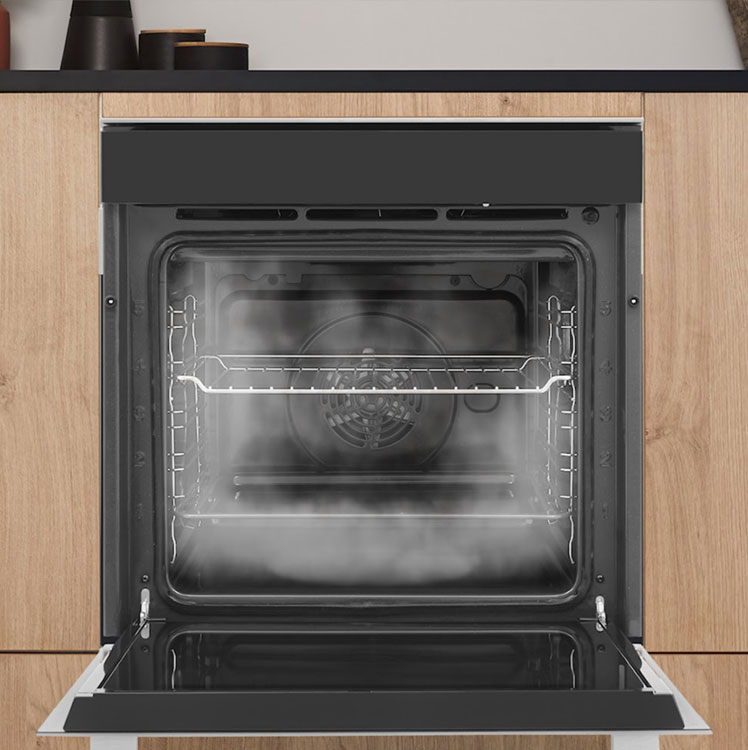 Steam Cleaning Self-Cleaning Ovens