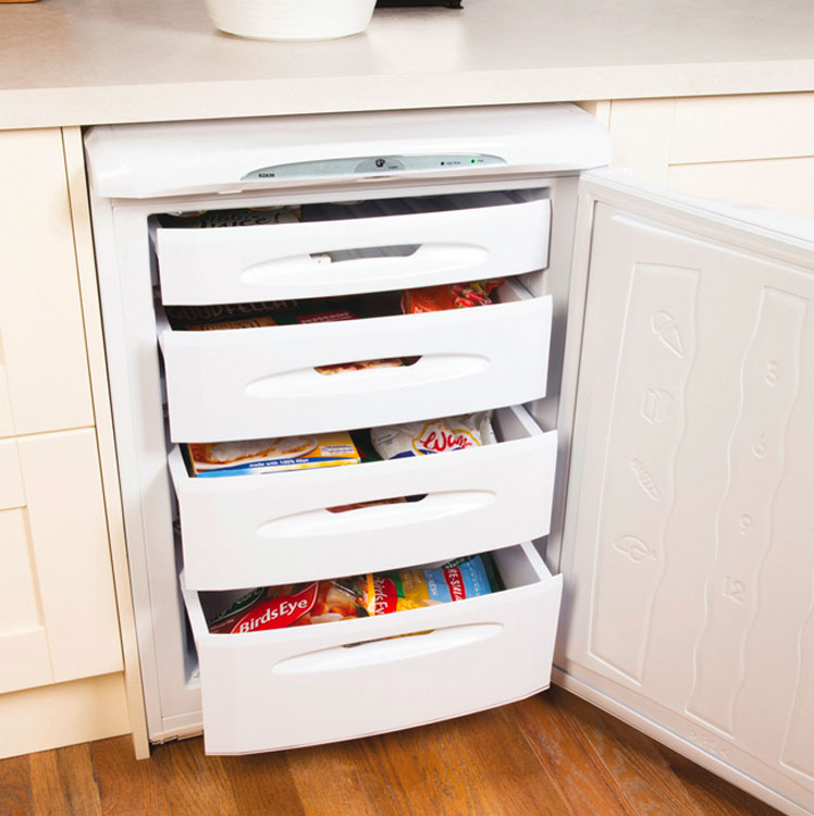 Integrated Freezer with Drawers