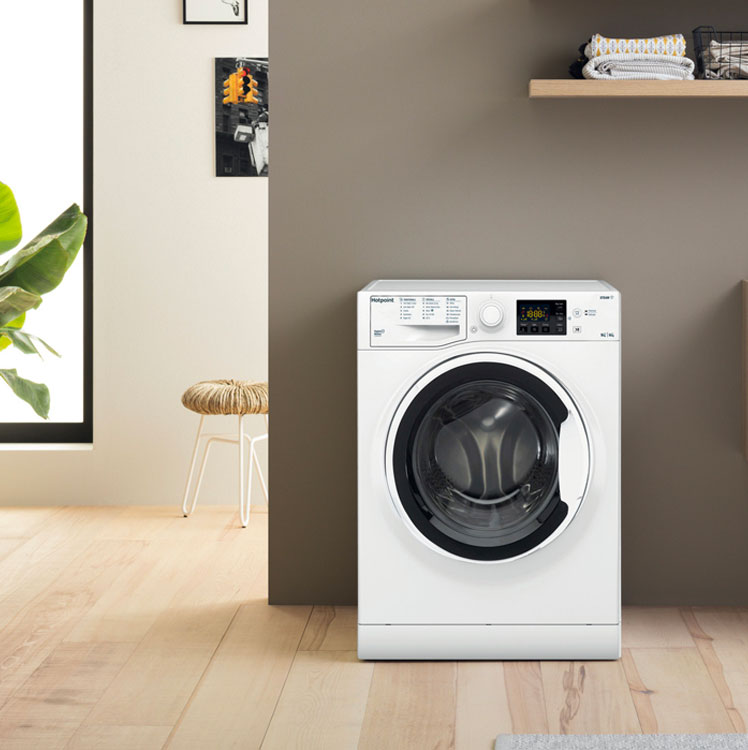 Quiet Washer Dryers by Hotpoint
