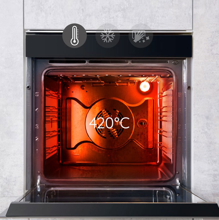 Pyrolytic Clean Ovens